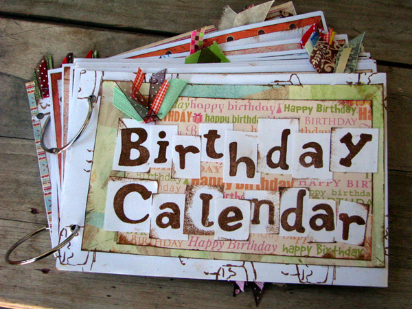 birthday calendar