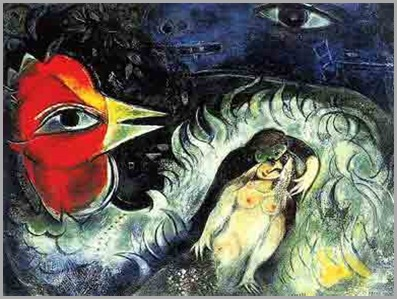 the_rooster_in_love_-_marc_chagall