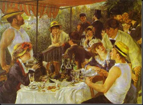Pierre-Auguste Renoir. The Luncheon of the Boating Party. 1881