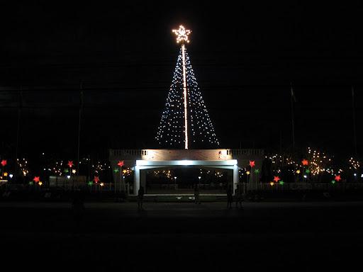 Carmen Town Plaza at Night - Carmen, Cebu