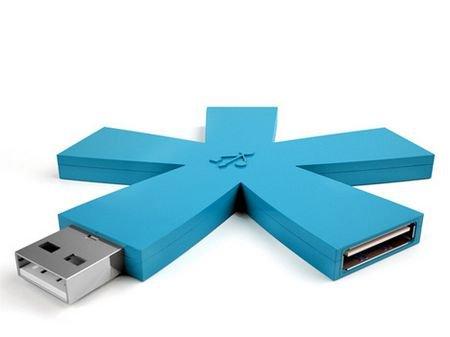 Funny USB Storage Design