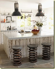 spring stools cottage kitchen hb