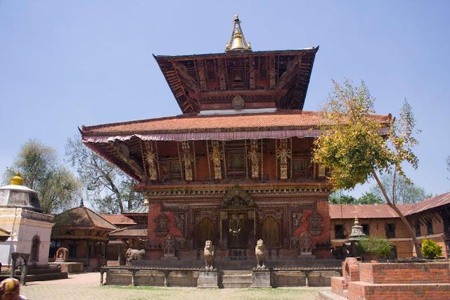 Nepal Templo Changu Naranya