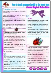 HOW TO TEACH GRAMMAR - PRES ACTION