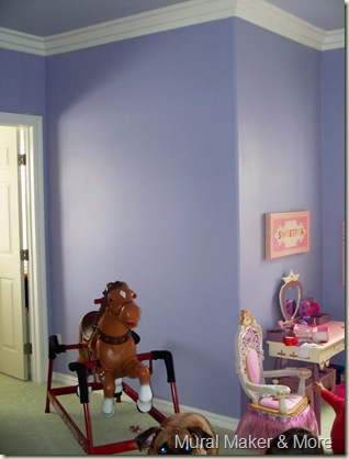 Disney mural for little girls bedroom just paint it blog - The year of the wonderful bedroom ...