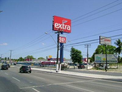 site do Extra supermercado