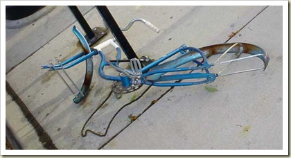 I got you a new bike for Christmas.
