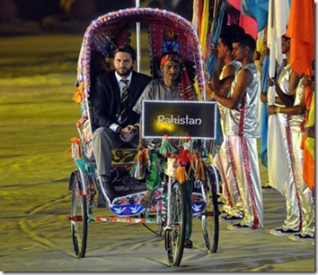 world cup 2011 opening ceremony Pakistan captain Shahid Afridi[8]
