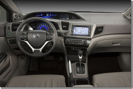 Honda-Civic_2012 interior
