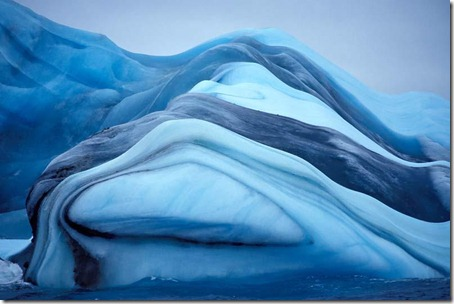 Striped Icebergs - Amazing Nature Photos (5)