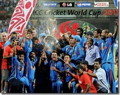India Won The World Cup 2011 Pictures 1