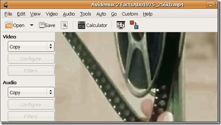 avidemuxvideoeditorforLinux