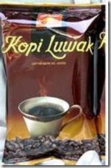 1. Luwak Coffee, Indonesia