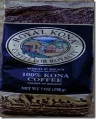 8. Hawaiian Kona Coffee