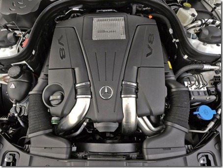 2012-Mercedes-Benz-CLS550-Engine-View