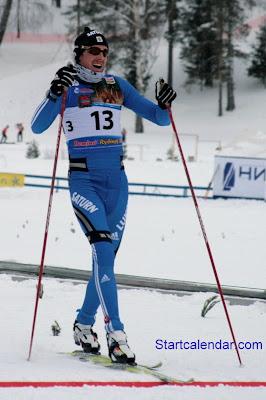 ЭКМ Рыбинск 2010, спринт. Василий Рочев выбывает из борьбы за призы сегодняшнего спринта