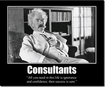 mark twain ignorance success consultants
