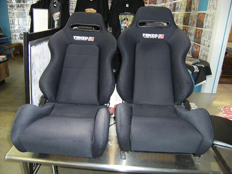Fs Ft Black Adjustable Tenzo R Racing Seats 94 Integra