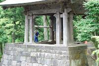Nikko, budhistischer Tempel, Punkt 12 wird die Glocke geläutet – 03-Aug-2009