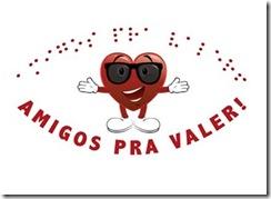 Natal Iluminado: logotipo Amigos prá Valer