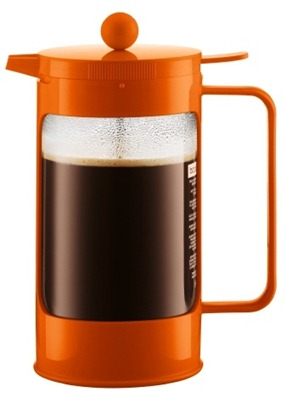 bodum bean orange