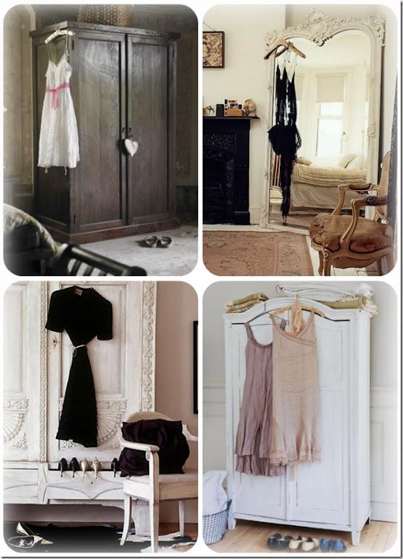 wardrobe dress collage