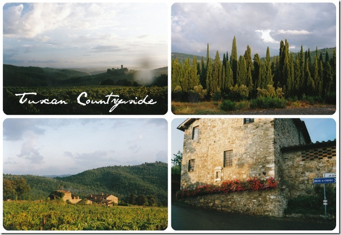 Tuscan collage