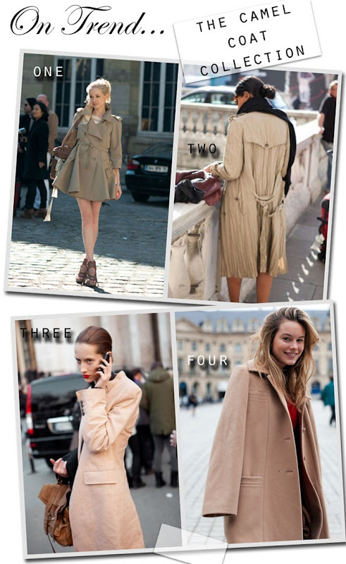 On Trend Camel Coat