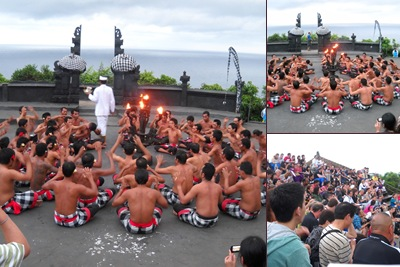 View kecak dance at uluwatu
