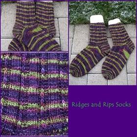 Ridges and Rip Socks