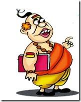 pandit cartoon-1