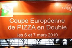 coupe d'Europe de Pizza en Double