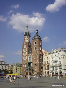 Kościół Mariacki w Krakowie.