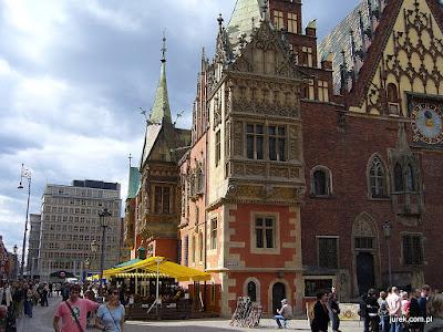 Wrocław, rynek.