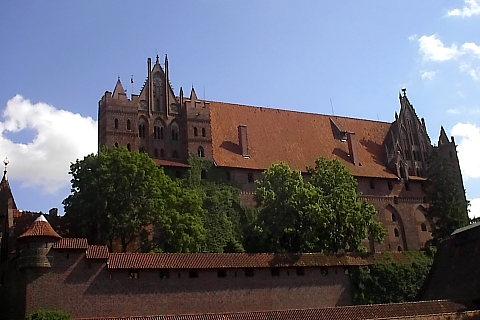 Malbork, zamek krzyżacki.