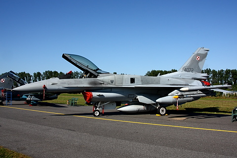 Lockheed Martin F-16C block 52+ Fighting Falcon.