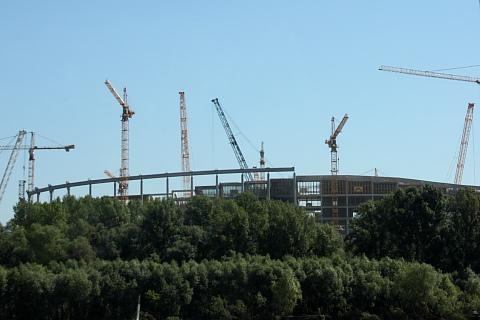 Stadion Narodowy, Warszawa.
