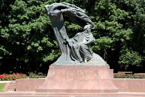 Pomnik Fryderyka Chopina, Warszawa.