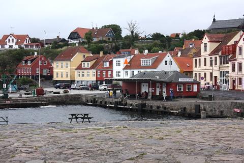 Bornholm, Gudhjem.