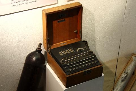 Enigma, maszyna szyfrująca.