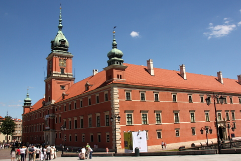 Zamek Królewski, Warszawa.