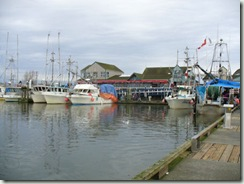 Steveston fishboats