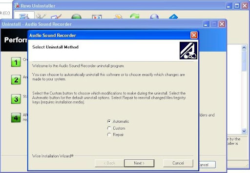 Revo Uninstaller installation wizard