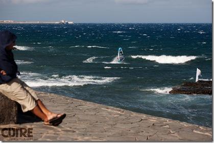 windsurfing pozo izquierdo