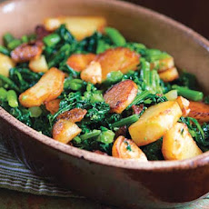 Sautéed Broccoli Rabe with Potatoes Recipe