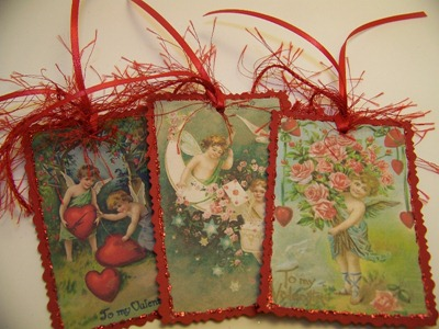 Valentine Tags 1 - Red - 1st 3