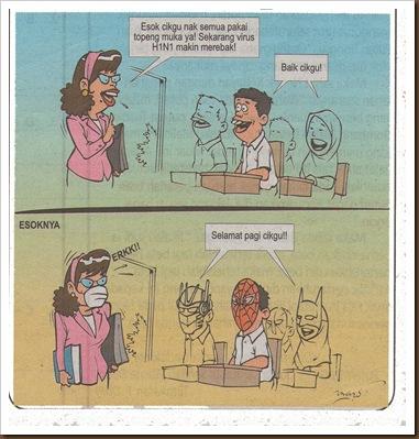 H1N1 - mask