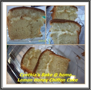 lemon honey chiffon