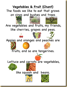 fruit-vegetable-chant