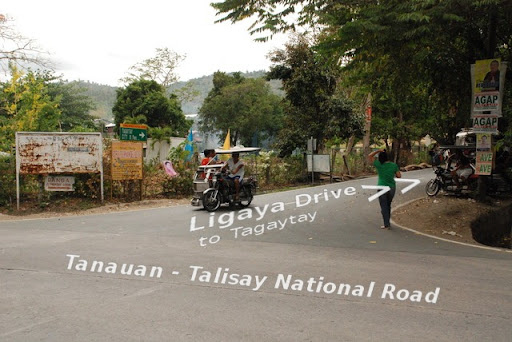 Ligaya Drive and Tanauan-Talisay National Road